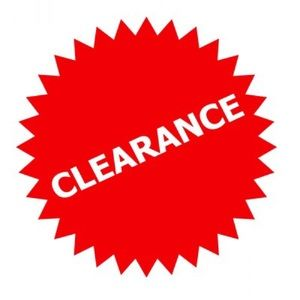 SELECT ITEMS ON FINAL CLEARANCE. PLEASE NO OFFERS